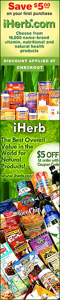 iHerb.com $5 Off First Order. Over 16,000 products including vitamins, supplements and herbals at discount prices as well as free samples.